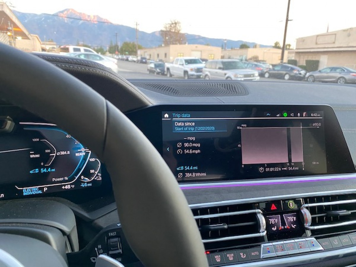 BMW X5 Hybrid range extender